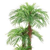 Areca Artificiel Palmier pot ceramique H 160cm 5 troncs