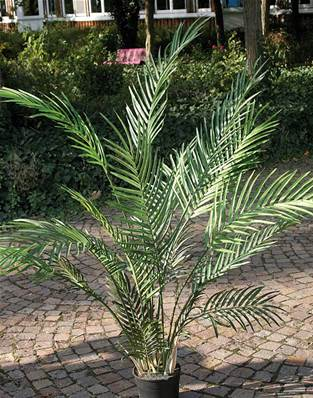 Areca Artificiel Palmier en pot H 120 cm