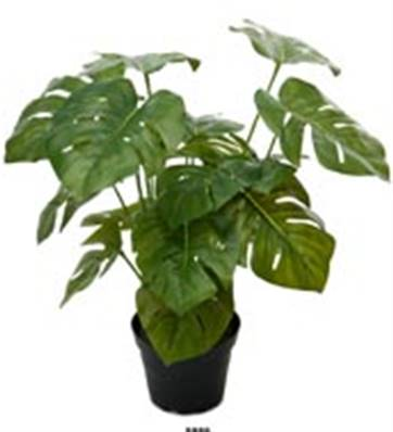 Plante Verte Philodendron Artificiel en pot H 35 cm