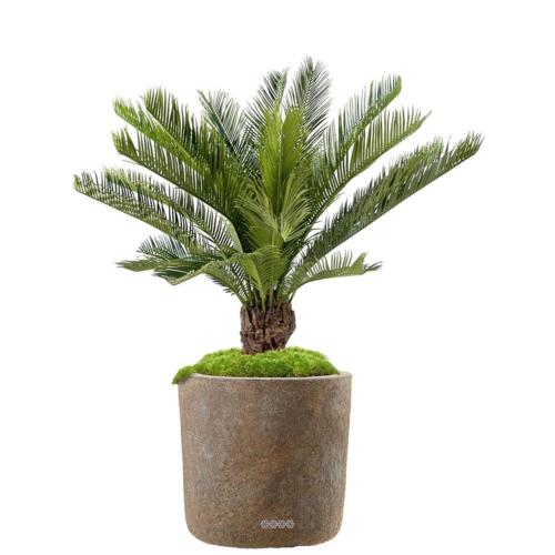 Feuille de Palmier Artificiel Vert Taille L 90 cm