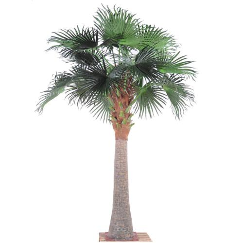 Chamaerops Washingtonia Artificiel Palmier H 380 cm